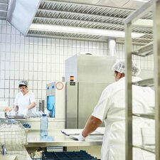 warewashing technology for hospitals