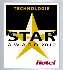 TopHotel STAR AWARD 2012 in Gold
