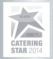 CateringStar in silver