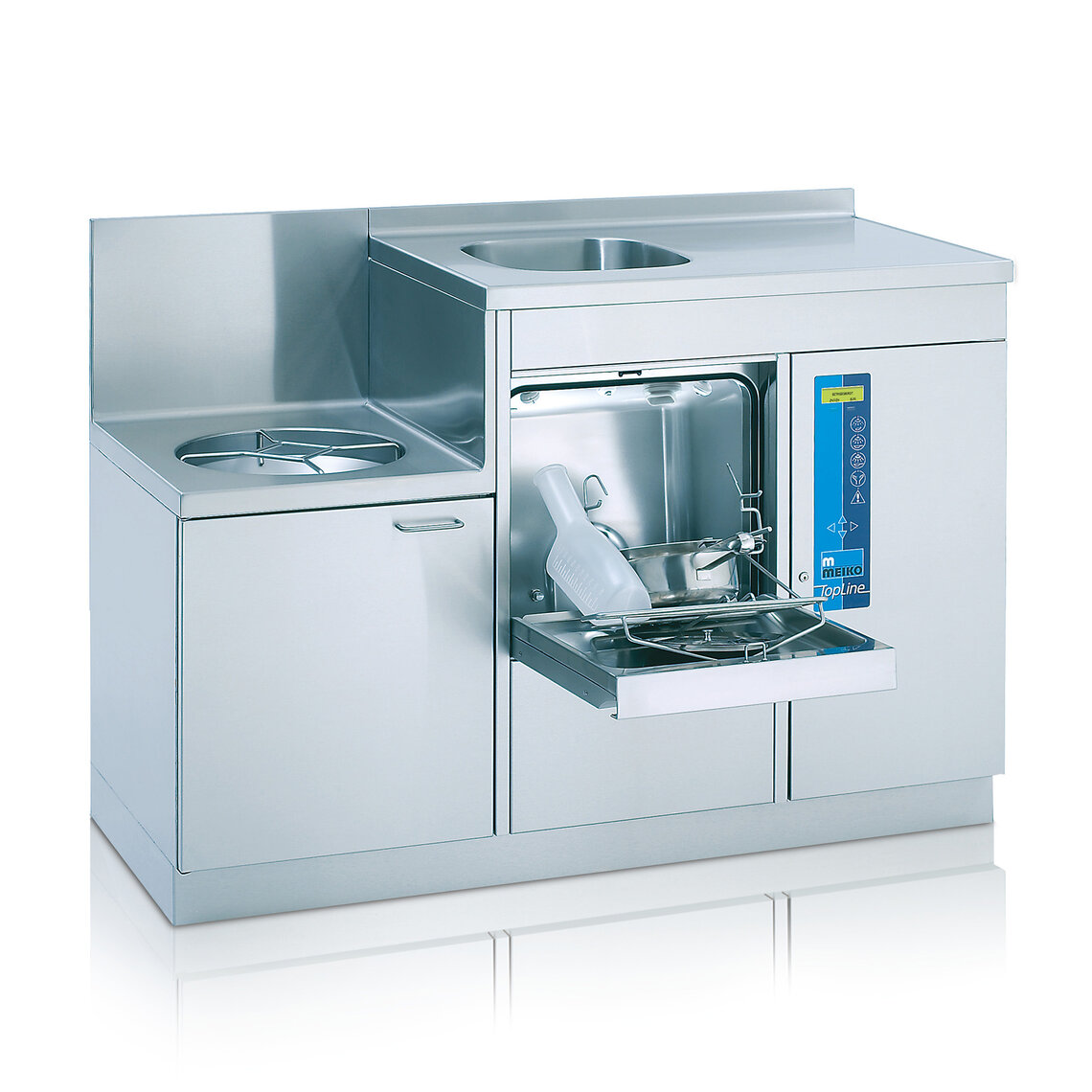 Combined Sluice Units For Hospital Hygiene Meiko